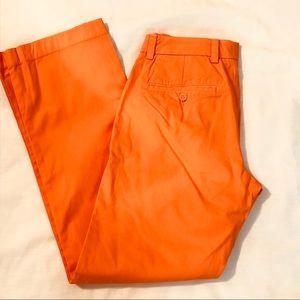 Vineyard Vines Mens Slim Fit Breaker Pants Orange
